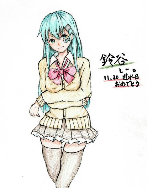鈴谷さんとお絵描き練習10
