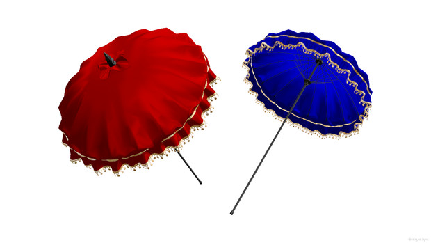 タイ風の日傘