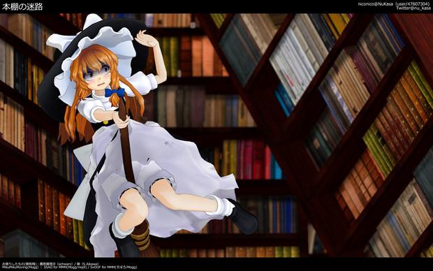 本棚の迷路