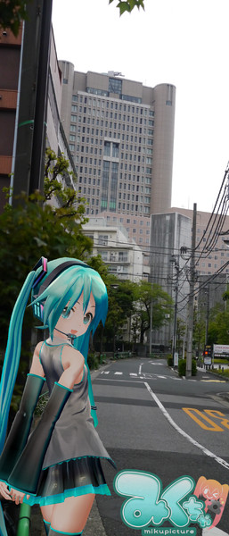 米沢嘉博記念図書館の外