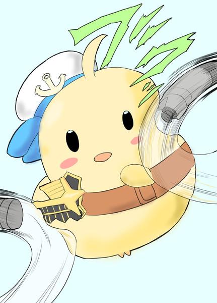 タフさを見せる精鋭ダメコン饅頭(ユニオン)