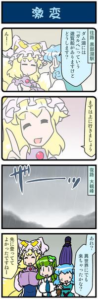 がんばれ小傘さん 3636