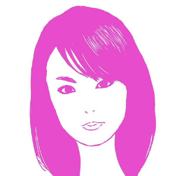 深田恭子さんのイラストを描いてみた