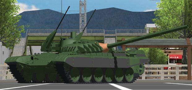 T-72M1 モデルナ【モデル配布】