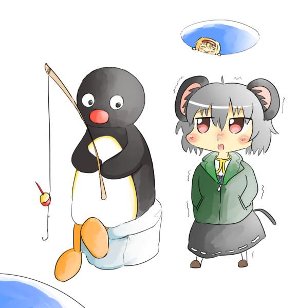 君こんな寒い中よく釣りなんてやってられるね