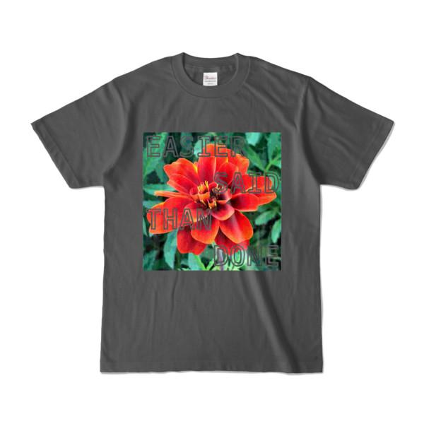 Tシャツ チャコール Invective_HANA