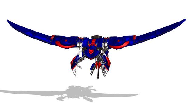 デススティンガーに翼を生やしてみた