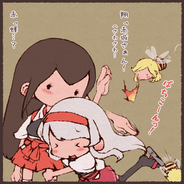 赤城さんとホーネットと手癖の悪い翔鶴