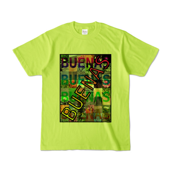 Tシャツ ライトグリーン BUENAS_Photo48