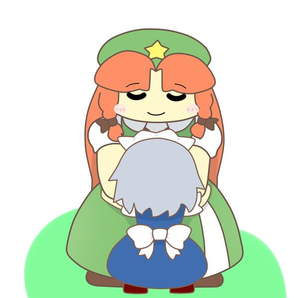 小さな咲夜ちゃんのお姉さん美鈴