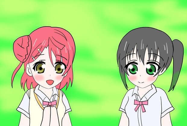 幼い頃からの友達 歩夢ちゃんと侑ちゃん