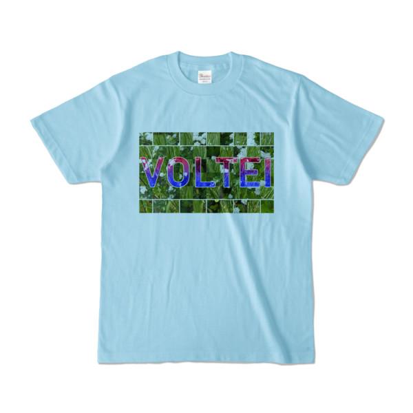 Tシャツ   ライトブルー   VOLTEI_Grass