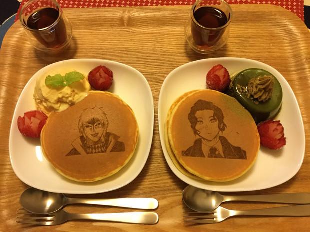 【実物】ホットケーキアート2(食品)
