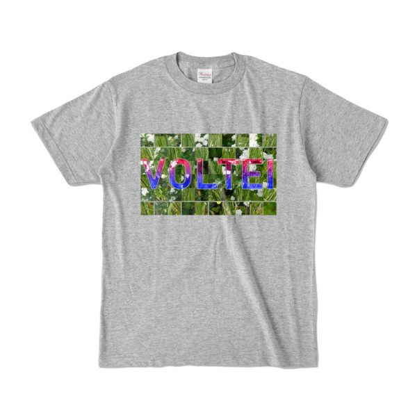 Tシャツ   杢グレー   VOLTEI_Grass