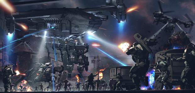 MAL:人類居住区強襲作戦