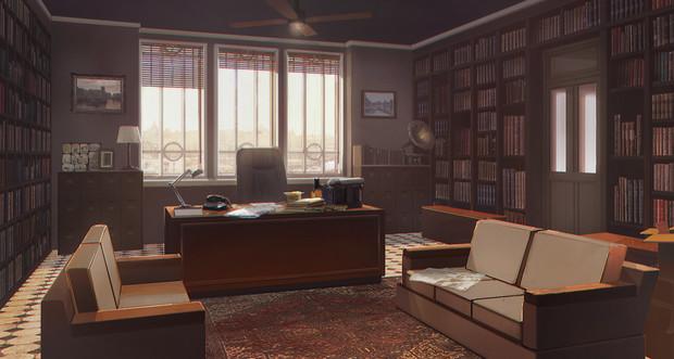 【TRPG】【フリー素材】探偵事務所【ゲーム使用OK】【クトゥルフ神話】