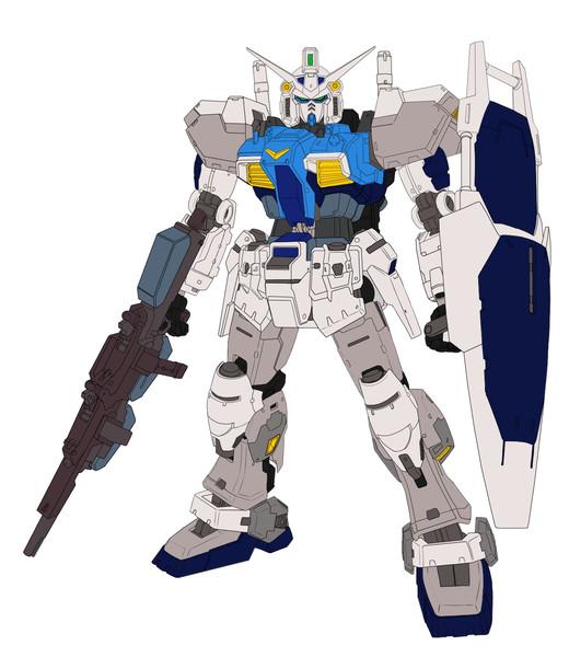 ガンダムMk-Ⅱ試作0号機(テストカラー)