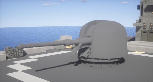 76mm速射砲(作り直し)