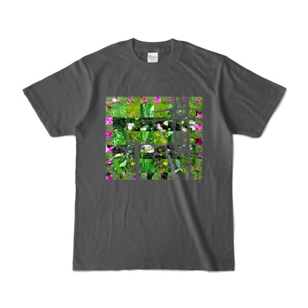 Tシャツ チャコール Grass_Tower