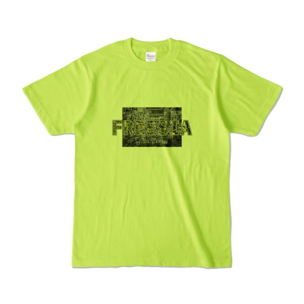 Tシャツ ライトグリーン Data_FREESIA