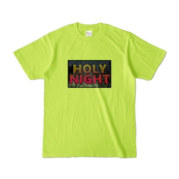 Tシャツ | ライトグリーン | HOLY_NIGHT_TONIGHT