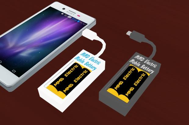 【モデル配布あり】モバイルバッテリー