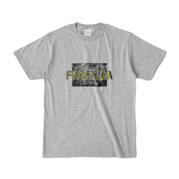 Tシャツ 杢グレー Data_FREESIA