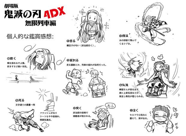 劇場版鬼滅の刃無限列車編4DX