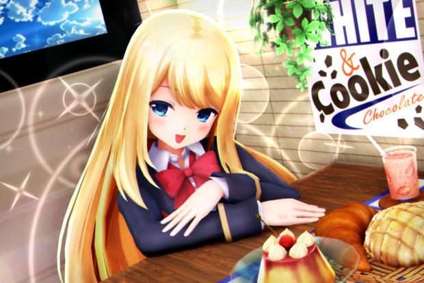 【かにフレ!】クロエちゃんと カフェタイム…♡