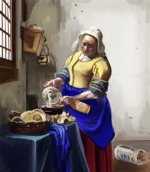 梅酒を大五郎で割る女