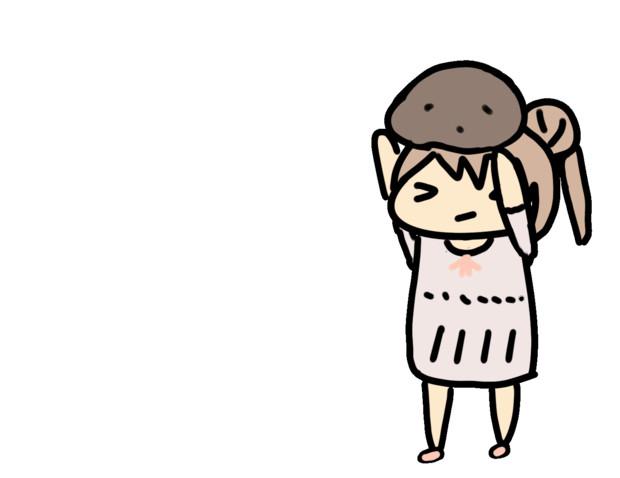 【GIF】岩を投げるさとうささら