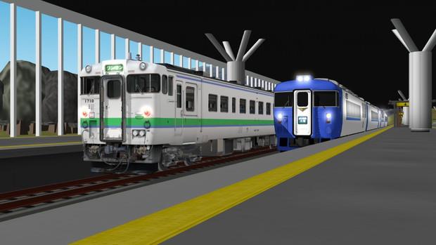 mmd鉄道で旭川駅