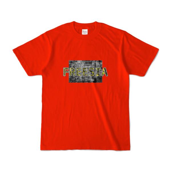 Tシャツ レッド Data_FREESIA