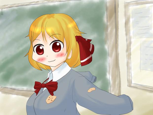 ルーミア in クラスルーム