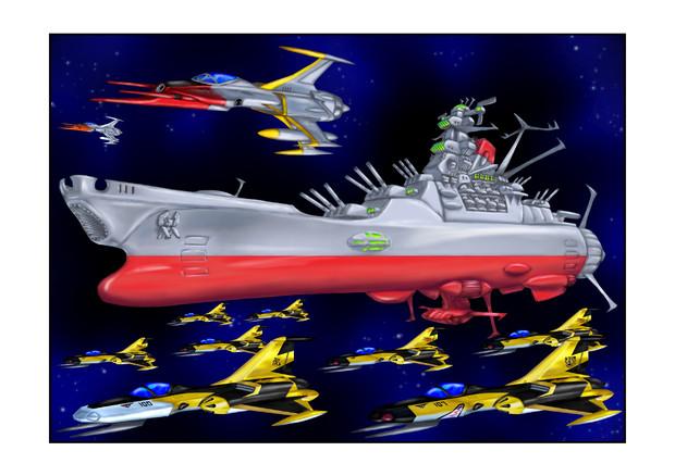宇宙戦艦ヤマト艦載機宇宙黒虎