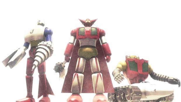 【MMD】ゲッターロボ