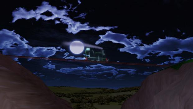 満月の夜の出来事
