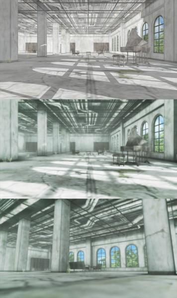 多目的ホール廃墟【配布】