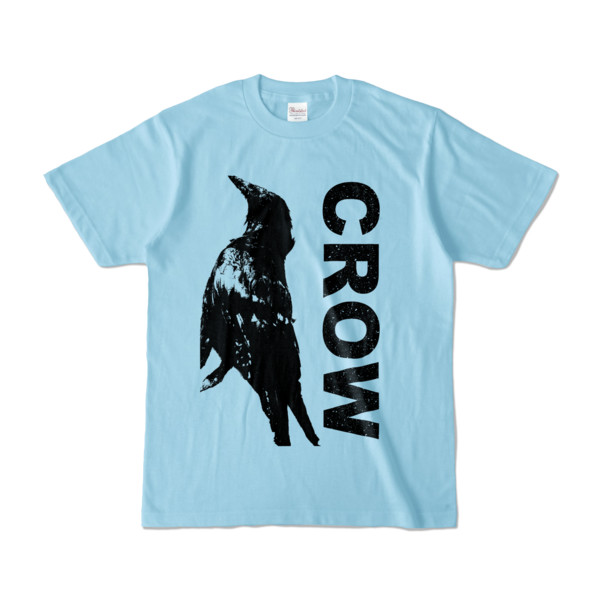 Tシャツ   ライトブルー   CROW_FirstONE