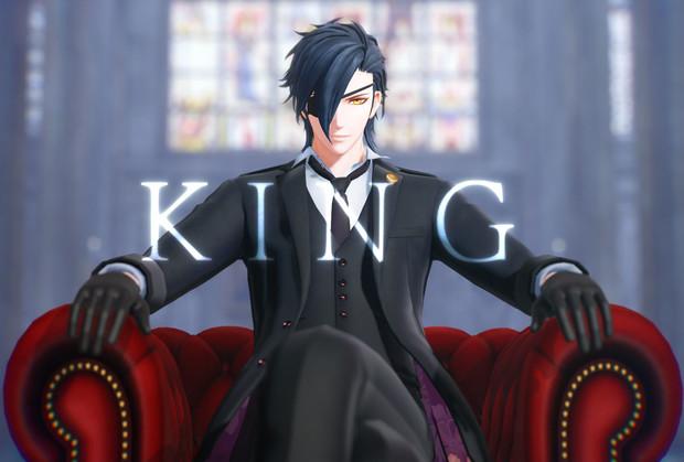 【MMD刀剣乱舞】KING / 燭台切光忠