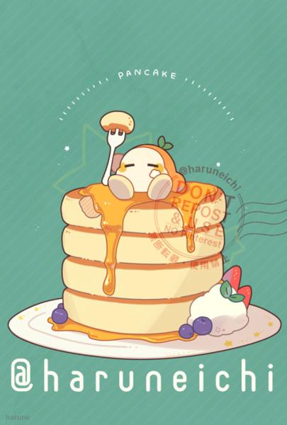 ホットケーキとワドルディ
