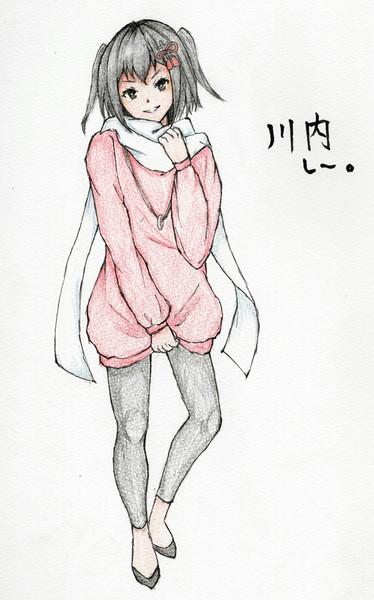 川内さんとお絵描き練習4