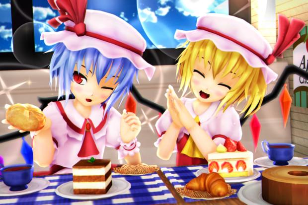【レミフラ!】ケーキと パンのセットも イイよね♪
