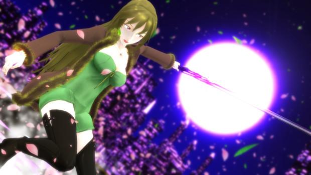 【Fate/MMD】乱れ雪月花!【六導玲霞】