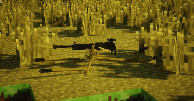 【MCヘリ】九二式重機関銃