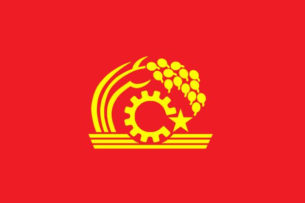 共産系日本国旗