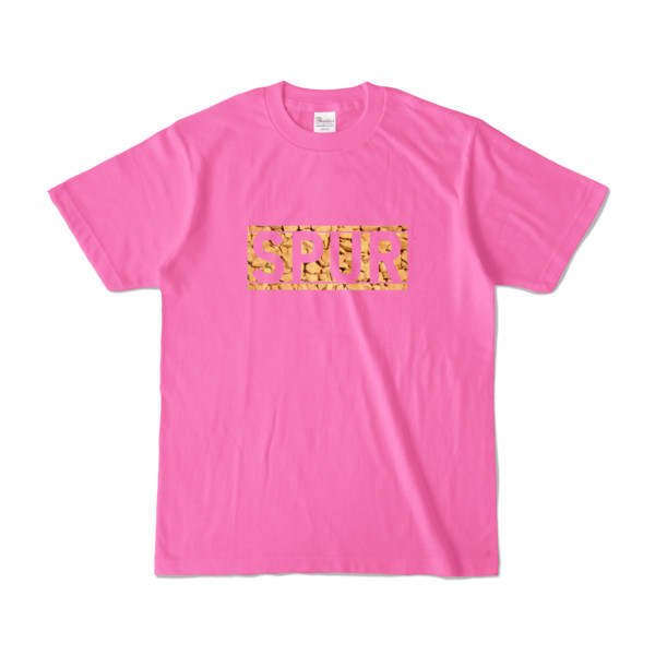Tシャツ ピンク SPUR_Coffee