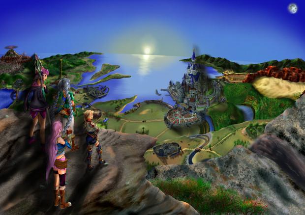 冒険の夜明け