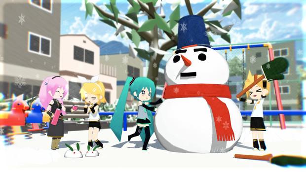 MMD雪まつり2021