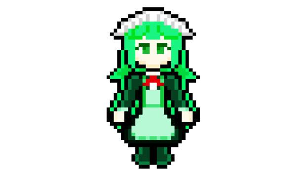 【ドット絵】モノスぺのウォーターRアクア(幻死蛍PC)